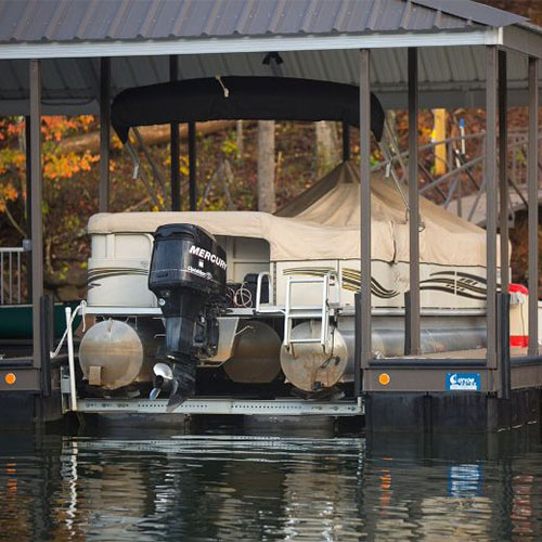 pontoon boat lift, lake thurmond boat lifts, boat lift