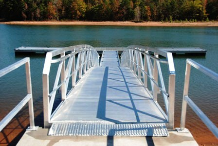 tugaloo state park, lake hartwell, handicap accessible ramp, handicap accessible dock