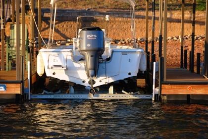 the carolina boat lift, boat lift, boat storage, lake secession boat lifts