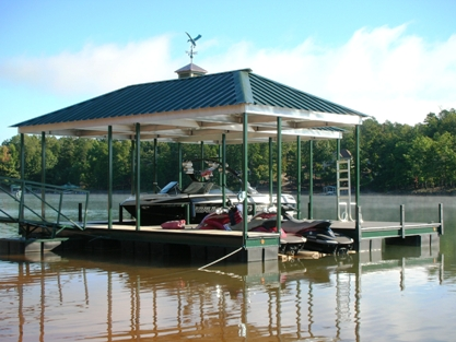 boat lift, seadoo lift, pwc lift,floatair, lake thurmond, lake secession