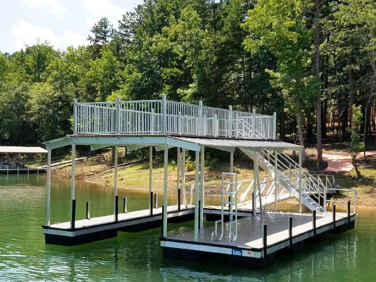 party deck, lake living, lake life, boat dock, party deck