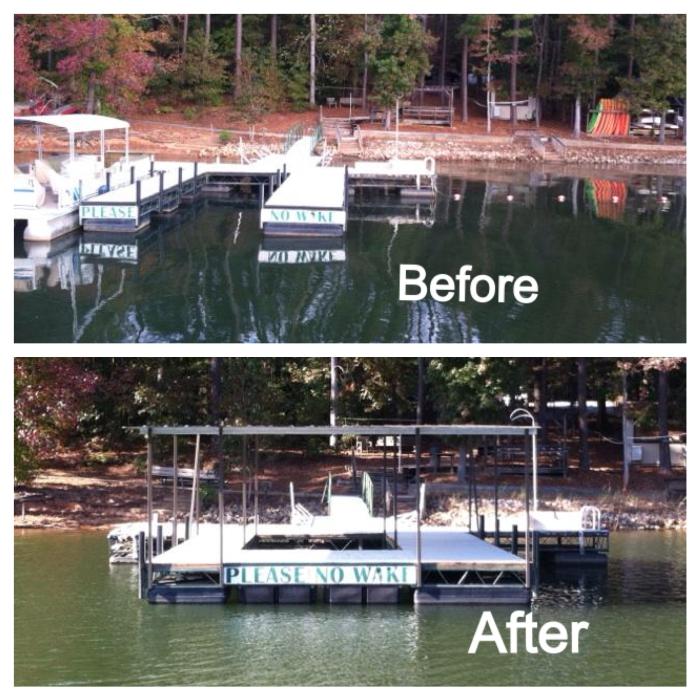 Camp Hope, Fishing dock, camp hope fishing dock, custom docks