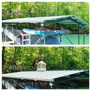 dock accessories, cupola, weathervane, dress up dock, dock repairs