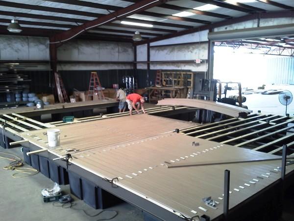 dock re-decking, dock refurbishing, PVC decking, IPE flooring, ironwood decking