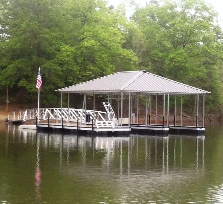 boat docks, aluminum boat docks, boat docks for sale, lake keowee boat docks