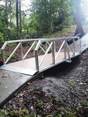 golf, golf cart, golf cart bridge, golf course, custom bridge