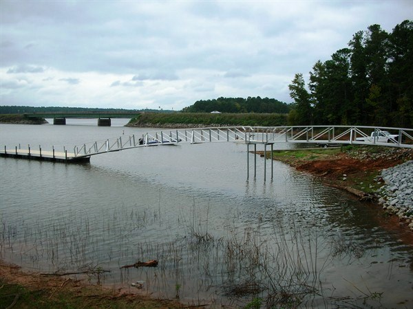 corps of engineers courtesy dock, lake thurmond, boat ramp dock