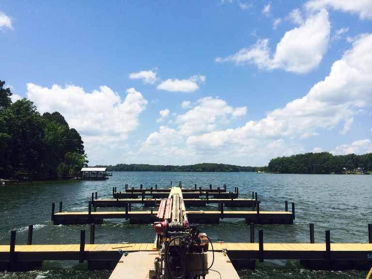 mansfield park marina, lake greenwood, lake greenwood boat docks, commercial boat docks