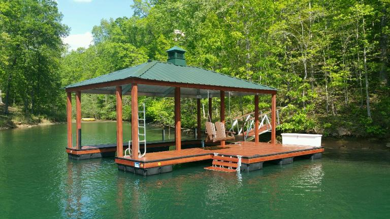 #cliffsliving, lake keowee, cliffs approved dock, boat dock, dock accessories