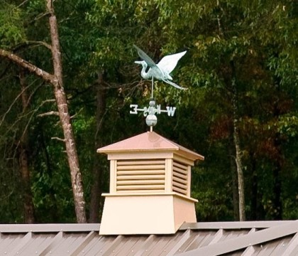 custom made dock accessories, cupola, weathervane, lake hartwell, lake living