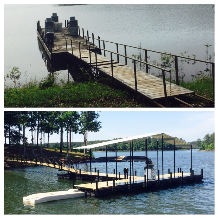 gas dock, commercial floating docks, boat dock, marina gas docks