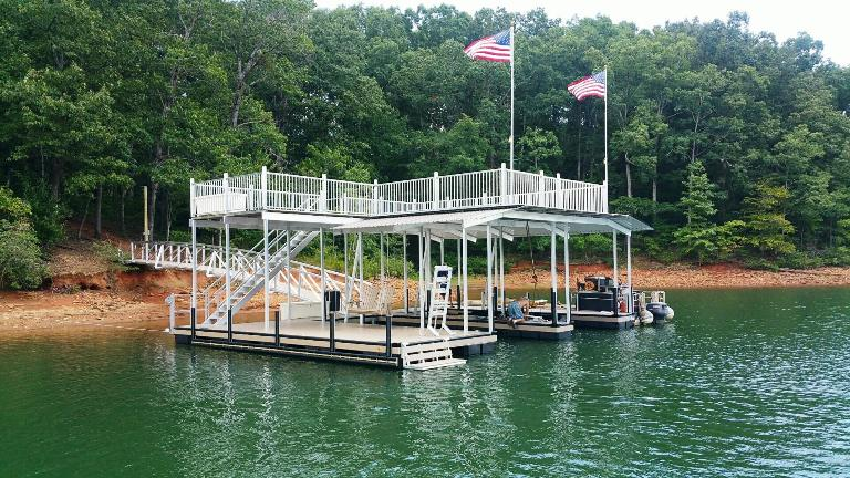 boat dock, lake living, dock accessories, pwc lift, boat lift, wet steps