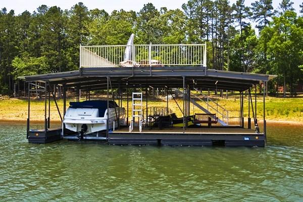 swim ladder, pwc lift, swing, boat lift, double slip dock