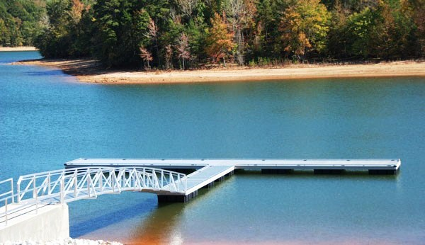 tugaloo state park, mega ramp, commercial dock, lake hartwell