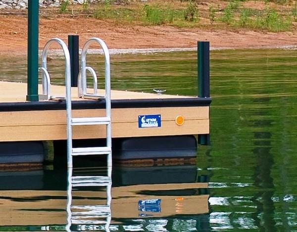 swim ladder, dock ladder, lake ladder, flip up ladder