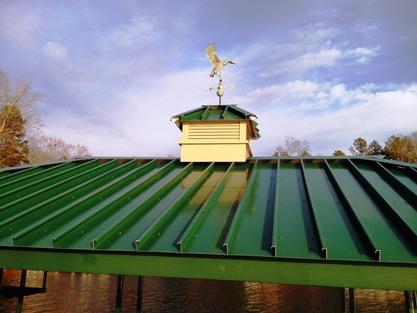 cupola, weathervane, aluminum cupola, custom made cupola, lake thurmond, lake greenwood