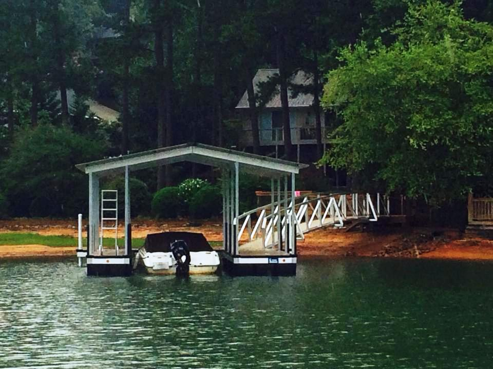 keowee key boat docks, custom built boat docks, lake keowee boat docks