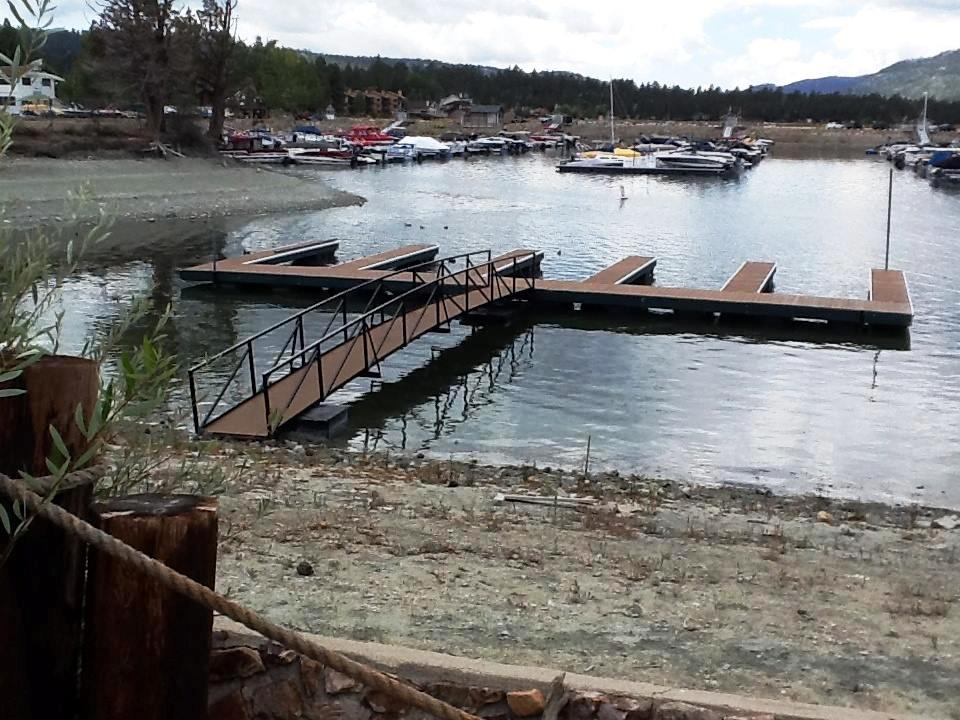 big bear lake California, California boat docks, California marinas