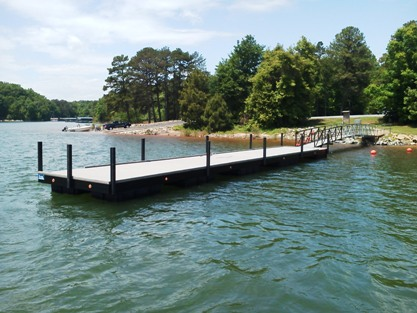 broyles landing, commercial docks, government docks, floating docks, the upstate lakes