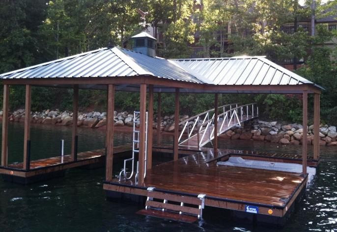 the cliffs appoved dock, the cliffs on Lake Keowee, the cliffs,