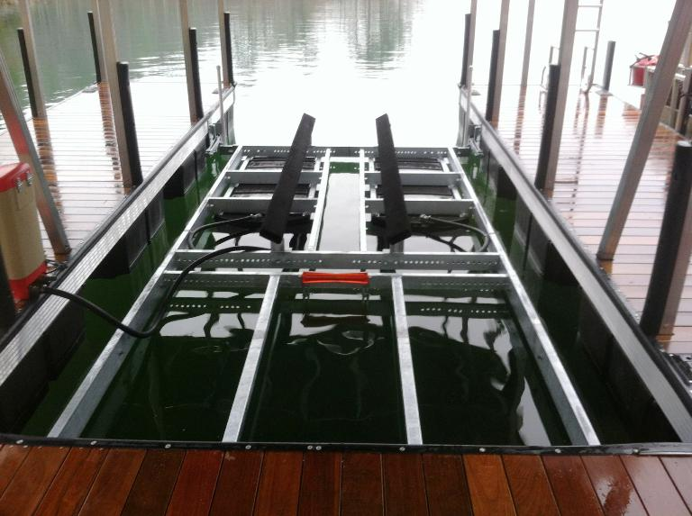 sturdiest boat lift in the southeast, custom made boat lift
