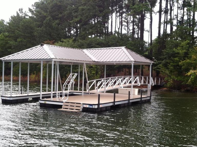 floating boat dock, boat dock, aluminum dock, swim ladder, dock box, boat bumpers
