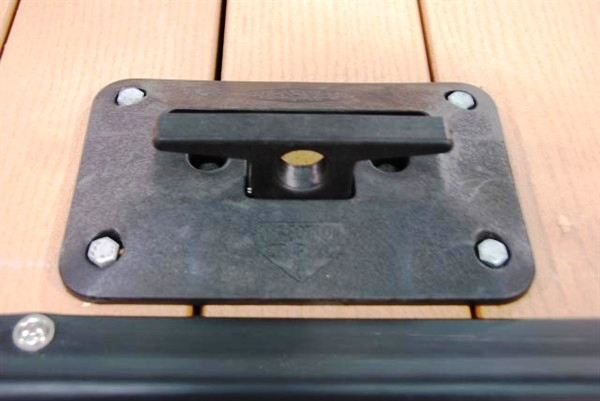 fold down cleat, boat tie, dock accessories, dock cleat