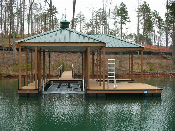 The Cliffs approved dock, personal watercraft lift, cupola, weather vane