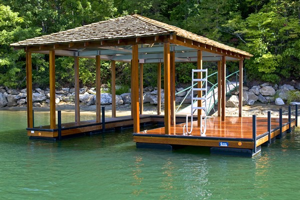 The Reserve Dock, approved dock for The Reserve, IPE Decking
