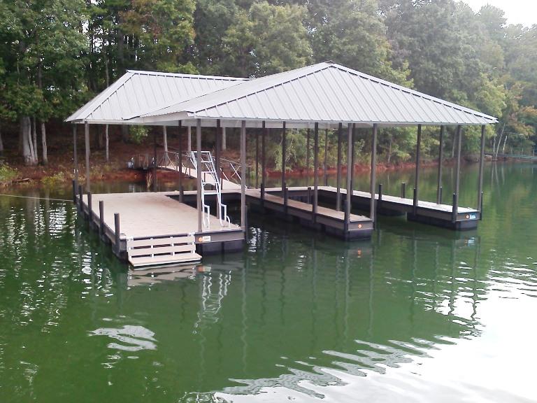 clemson, clemson university, clemson dock, floating boat dock, tiger football