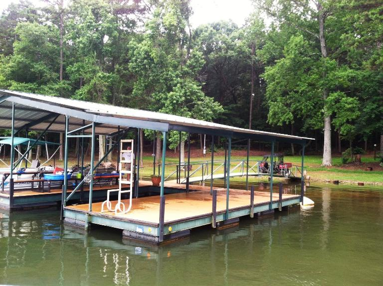 floating dock roof extension, roof addition, sun protection, dock shade