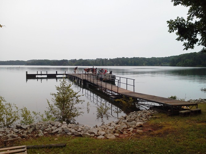 Anderson County Sheriffs office, dock repairs, dock restoration, commercial floating docks