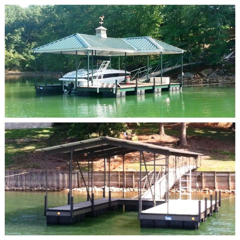 lake harwell, lake keowee, kroeger marine, t and m docks,