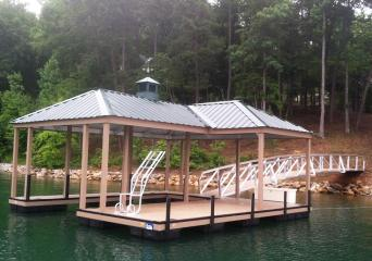 The Cliffs at Lake Keowee, The Cliffs Communities, The Cliffs approved dock