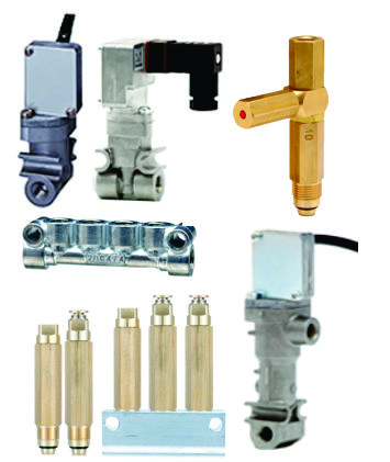 PDI Grease Valves, Pressure Switches, Manifolds, & Junctions