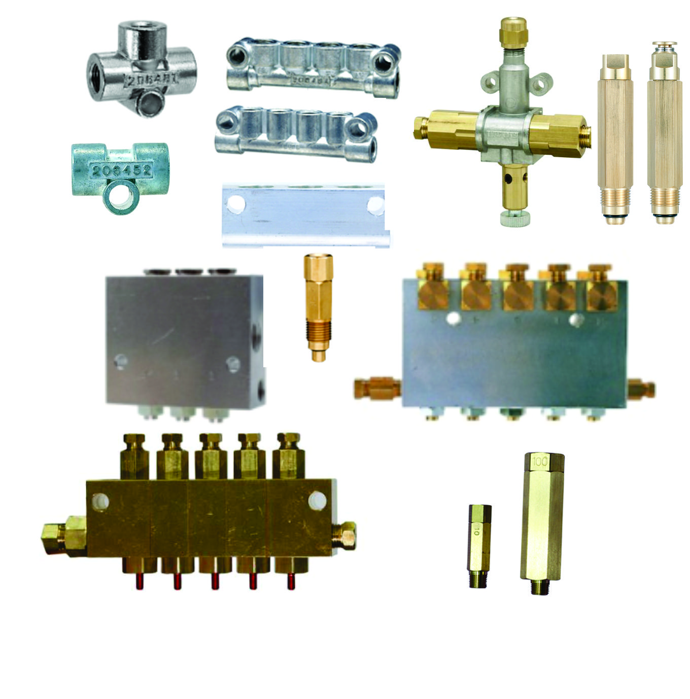 PDI Oil Valves, Manifolds, & Junctions