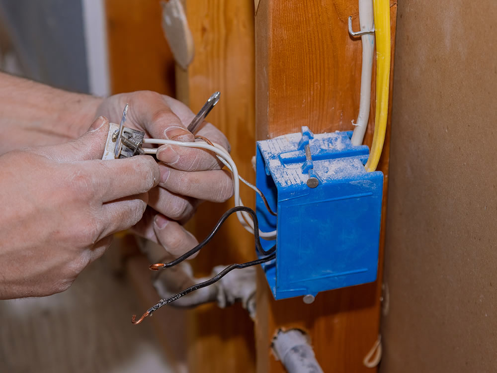 Greenville Home Electrical Rewiring Cloth Wire Replacement